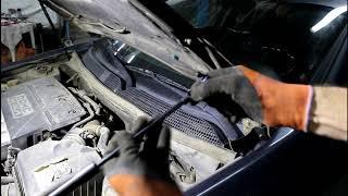 Замена газового упора капота на Chevrolet Epica Шевроле Эпика 2008 года