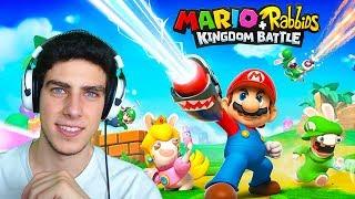 JUGANDO A MARIO + RABBIDS: KINGDOM BATTLE POR PRIMERA VEZ | Nintendo Switch