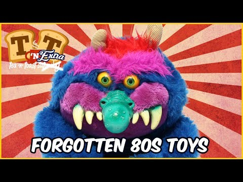 Forgotten 80s Toys and Cartoons Remembered!