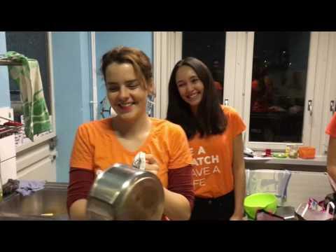 Orange Dinner by Marrow Fribourg
