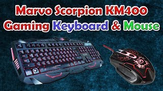 budget gaming keyboard  scorpion marvo km400 usb wired  gaming keyboard and mouse  tech rv