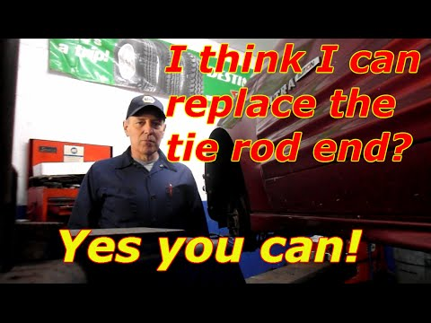 How to replace the outer tie rod end on a Pontiac,Chevy,Buick or any GM product