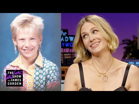 January Jones's 4th Grade Haircut Was Next-Level