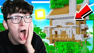 BUILDING A MASSIVE TREE HOUSE IN MINECRAFT!