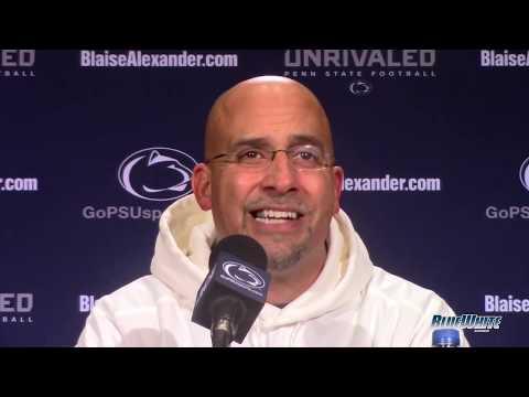 Penn State Nittany Lions Football: James Franklin - Maryland postgame