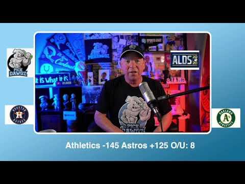Oakland Athletics vs Houston Astros Free Pick 10/5/20 ALDS Game 1 Pick & Prediction MLB Pick
