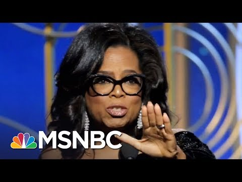 Oprah For President? The Big Pros And The Possible Cons | AM Joy | MSNBC