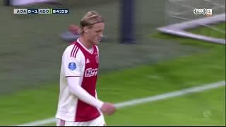 Kasper Dolberg vs ADO Den Haag (H) 2018/19