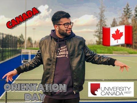UNIVERSITY CANADA WEST (UCW) ORIENTATION DAY  VLOG