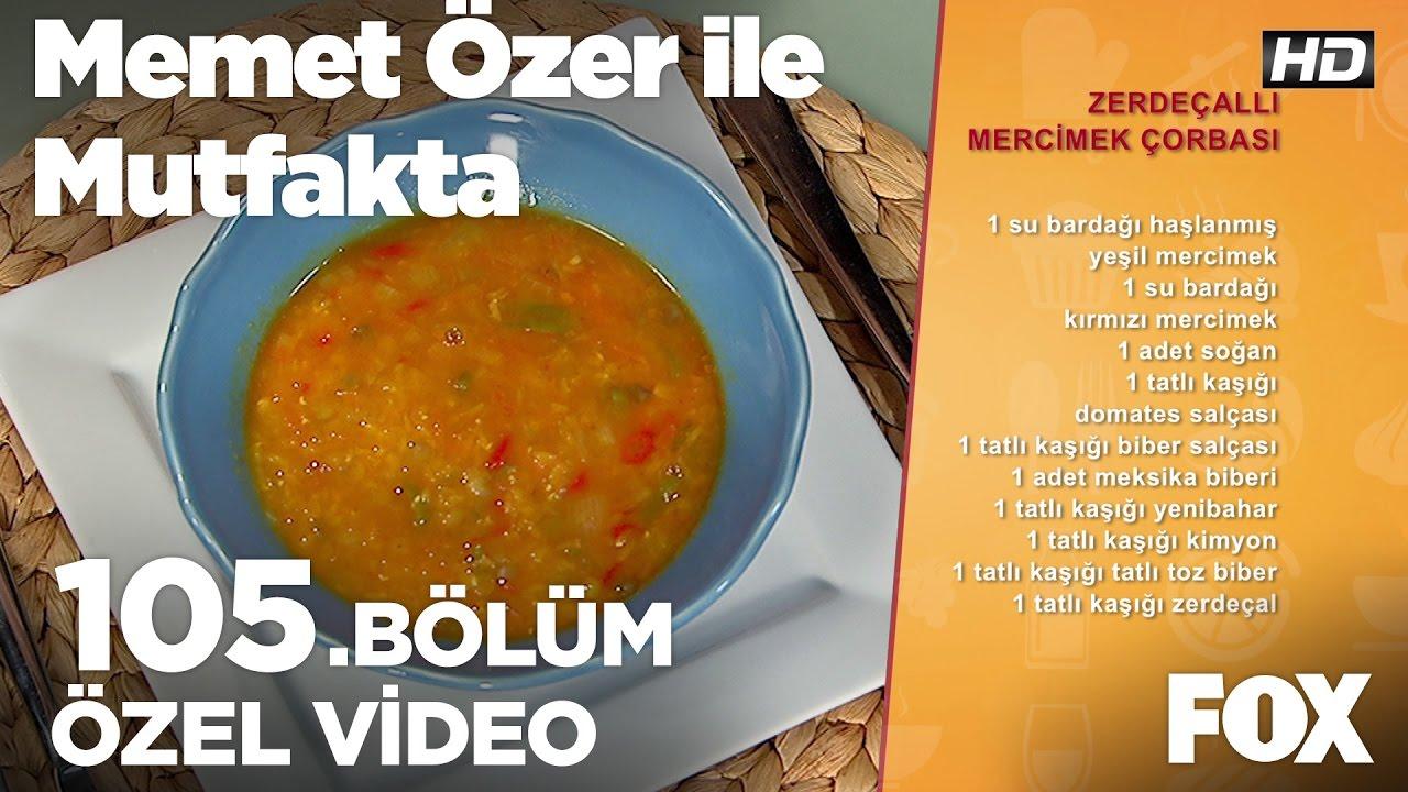 Zerdeçallı mercimek çorbası tarifi