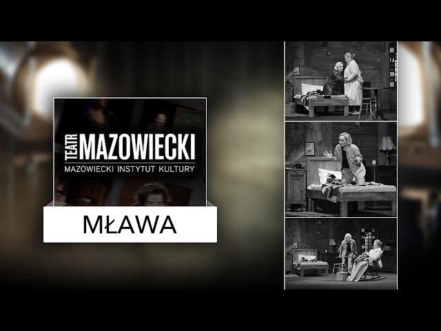 Teatr Mazowiecki w Mławie Rozmowa z Piotrem Dudą