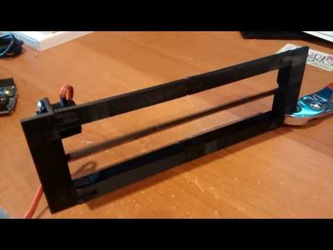 Actuated grill block - 3d printed - arduino controlled
