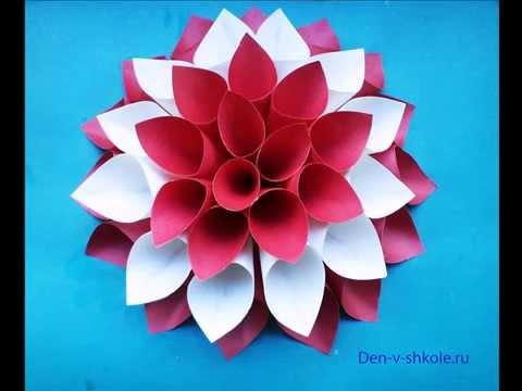 Как сделать тюльпан из бумаги из гофрированной бумаги своими руками фото 837