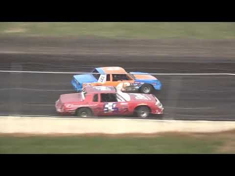 IMCA Hobby Stock Heat 2 Benton County Speedway 8/11/19