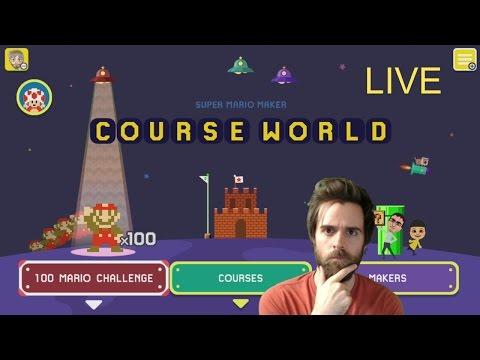 Super Mario Maker Blind Kaizo Race | 1 Week Until Nintendo Switch! | SPONSORS!!