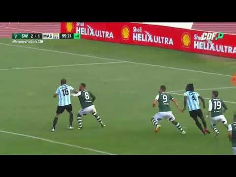 Gol de Ampuero   Santiago Wanderers 2-1 Magallanes