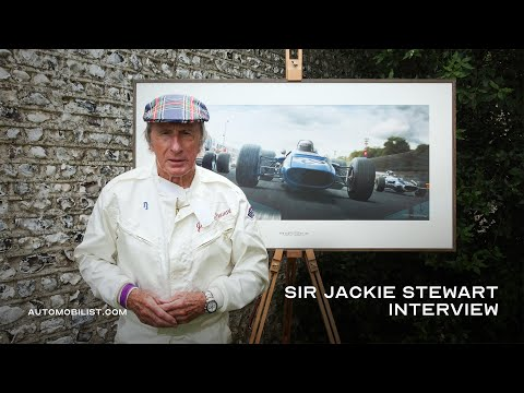 Sir Jackie Stewart Interview By Automobilist