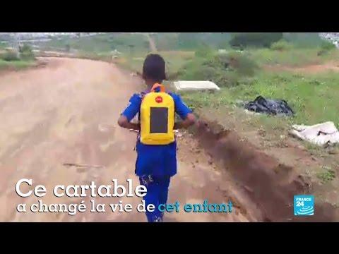 Le cartable solaire en Côte d'Ivoire qui change la vie des enfants
