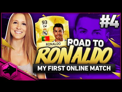 MY FIRST ONLINE MATCHES | FIFA 16 ROAD TO RONALDO !!!