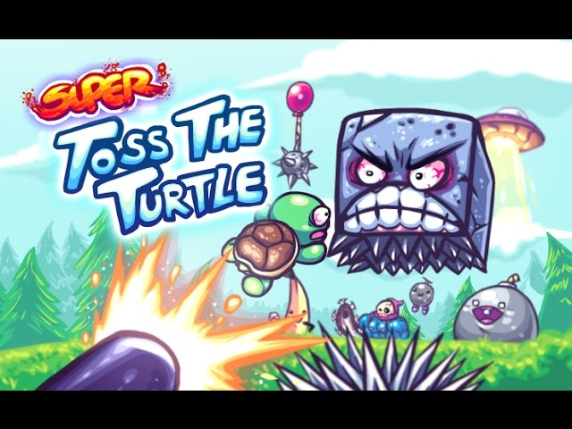 Super Toss The Turtle!! New Mobile Game by GonzoSSM