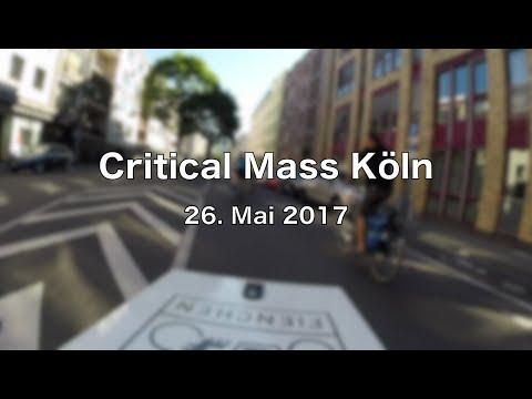Critical Mass Köln - Mai 2017