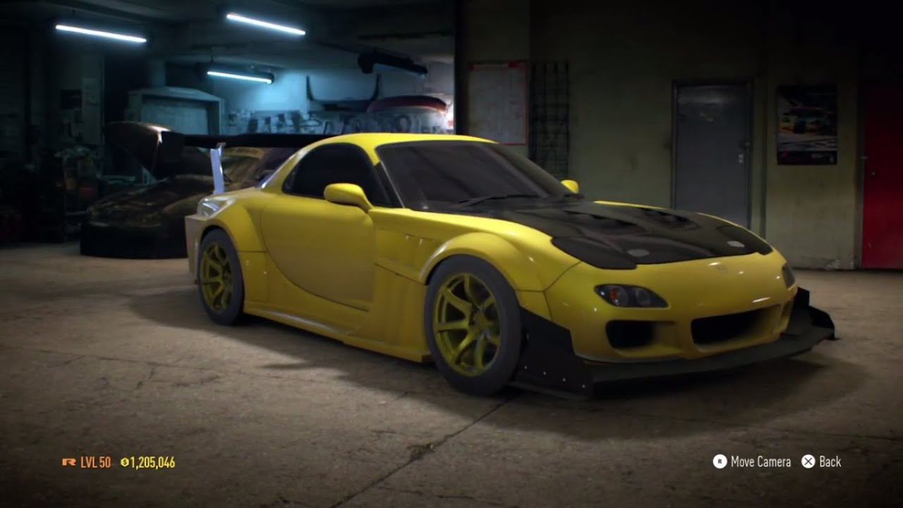 Need For Speed 2015 -  U0026quot Mazda Rx7 Initial D U0026quot