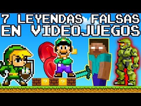 Top 7: Leyendas Urbanas en los Videojuegos que son FALSAS (y Todos nos Creímos)