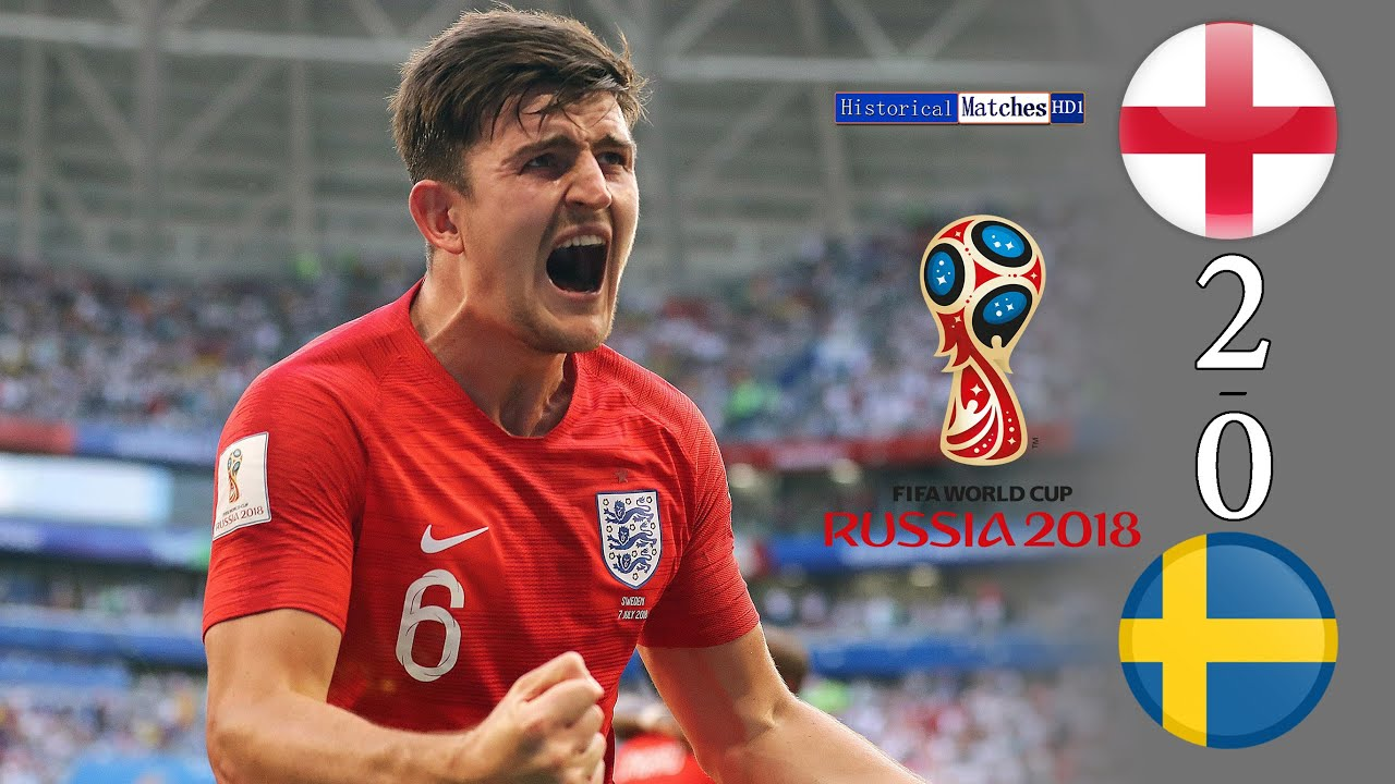 Download Sweden 🇸🇪 0×2 🏴 England Fifa W.C 2018 Extended HighLight Full HD