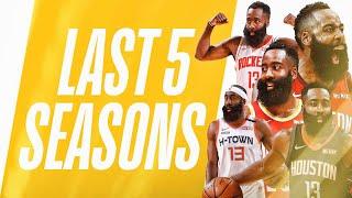 Harden's Most FLASHY Crossovers   Last 5 Seasons