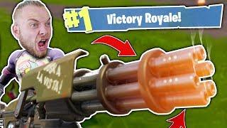 MULTIPLE MINI GUN WINS!! - FORTNITE BATTLE ROYALE!!