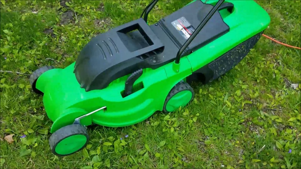 Eco-Turf electric lawnmower