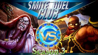 Cabraken vs Vulcan - Duel Club 1v1 - Smite(Hello everybody and welcome to this amazing game of smite. We take on the fat loki versus Vulcan and I ask the question. What was the new passive?! I totally ..., 2016-07-17T10:49:00.000Z)
