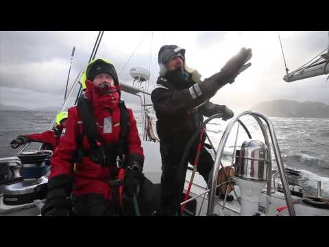 How to heave to in a yacht – Skip Novak's Storm Sailing