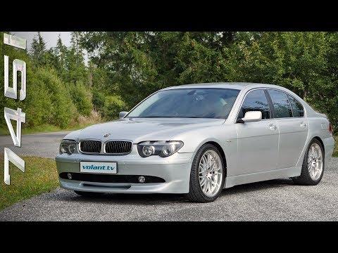 Tom ove BMW 745i E65 volant.tv