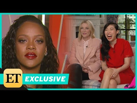 Watch Rihanna Put the 'Ocean's 8' Cast on the Spot With Sneaky Question Exclusive