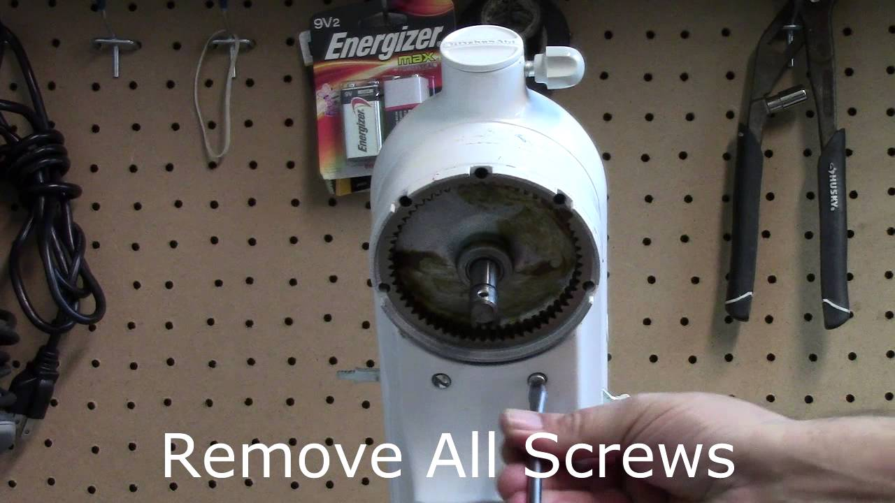 Captivating KitchenAid Stand Mixer Repair Replacing The Speed Control Lever   YouTube Great Ideas