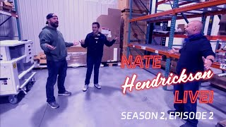Nate Hendrickson Live! MediNate, J Balvin Meal Review and Ceiling Lift Load Testing