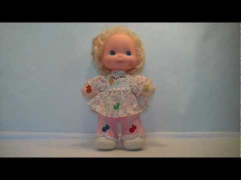 Vintage 1974 Sweet Melody Loves Notes Musical Plush Doll By Mattel