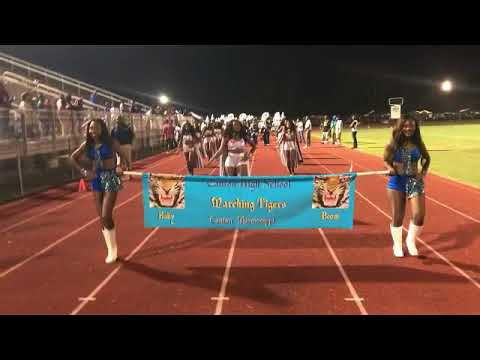 Canton High School Band Ft  Da Prancing Tigerettes