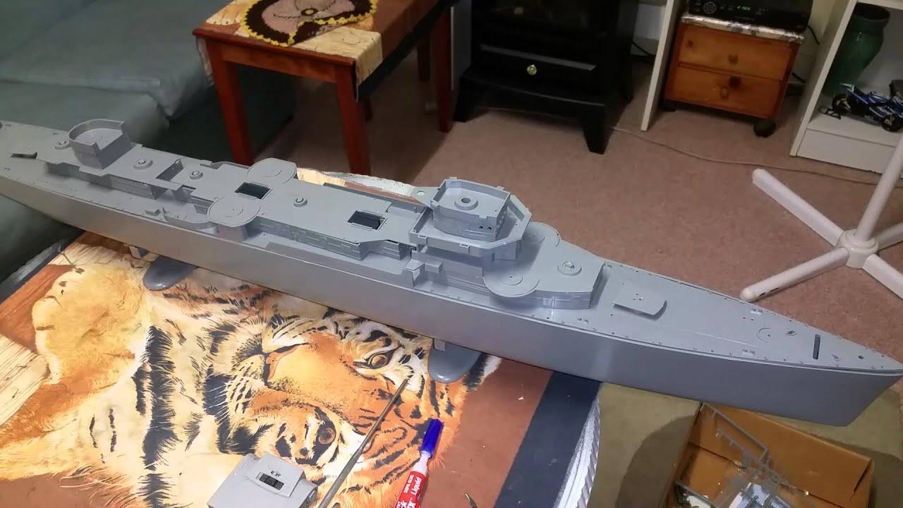 Technology Management Image: Start Build Of Lindberg Fletcher Destroyer