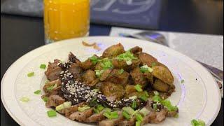 Брюссельская капуста по-китайски. Chinese Brussels sprouts.