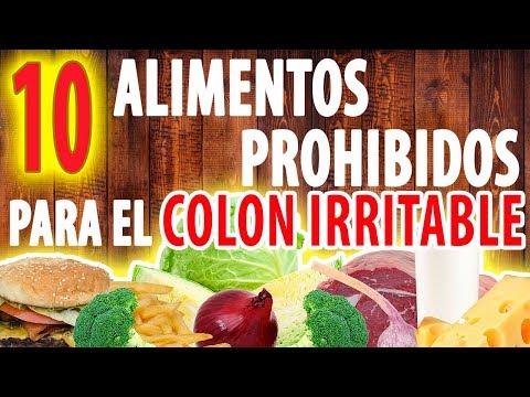 dieta para el colon irritable y hemorroides
