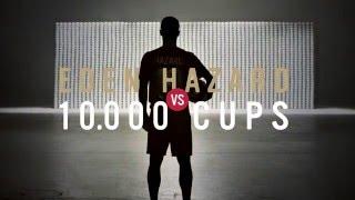 Eden Hazard vs. 10.000 cups – Lotus Perfect Kick Shooting thumbnail