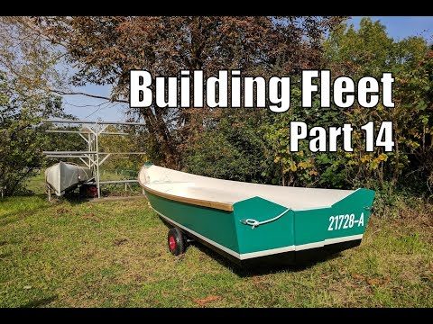 Building Fleet, a small wooden boat #14