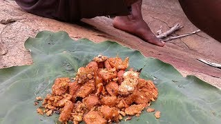 Primitive Technology | Cooking and eat big crab | Eating delicious crab in jungle | jungle foods