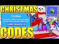 5 CHRISTMAS PACK UPDATE CODES IN MINING SIMULATOR! (Roblox)