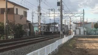山陽5000系5010F直通特急阪神大阪梅田行き 中八木駅通過
