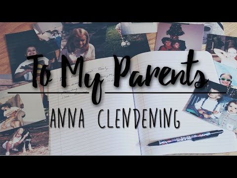 Anna Clendening - To My Parents (Official Live Studio Version)