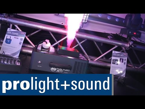 American DJ Fog Fury Jett | Prolight + Sound 2015
