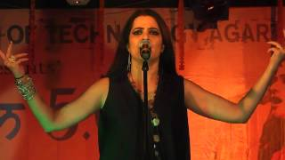 TERE ISHQ NACHAYA | Sona Mohapatra live performance at NIT Agartala during AAYAM 5.0 [HD 1080p]